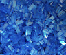 500 x LEGO® Tile / Fliese 1x2 ( 3069 ) in Transp. dunkel blau / Trans dark blue