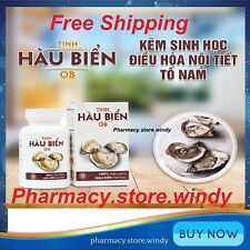 05 Boxes (150 Capsules) Tinh Hàu Biển OB, Sea Oysters - Male Physiology - NEW