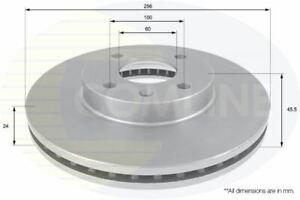 FOR CHEVROLET AVEO 1.4 L COMLINE FRONT BRAKE DISCS ADC1158V