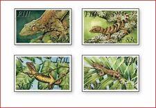 FIJ0306 Reptiles 4 stamps