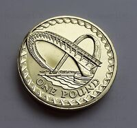 2007  £1 coin Gateshead Millennium Bridge BU Rare One Pound coin hunt