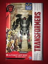 Transformer Autobot  Unite Hot Rod The last knight rare Walmart Exclusive