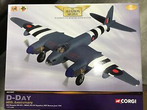 CORGI Aviation  AA34602 DH MOSQUITO PR XVI NS502 NO.544 SQN RAF BENSON 1/32 Ltd