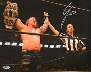 Chris Jericho Signed 11x14 Photo BAS COA AEW New Japan Pro Wrestling Autograph 3