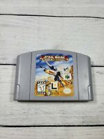 Star Wars Rogue Squadron Nintendo 64 Game Authentic N64 Cartridge Cleaned