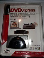 * Transfer VHS, Analog or digital camcorder to DVD Xpress DX2 ADS USBAV-709 SK-E