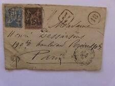 Lettre Recommandée Type Sage 1891