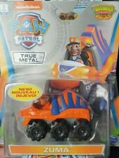 Paw Patrol True Metal Dino Rescue Vehicles ZUMA NEW 2020 in box.