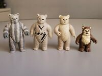 Vintage Star Wars Ewok Lot of 3 Chief Chirpa, Teebo, Wicket and Lumat Kenner