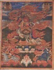 Antique Mongolian Thangka, 18th century