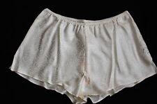 Lise Charmel Short Silk Shorts Taille 38 Crème 96% SOIE NEUF ala0162