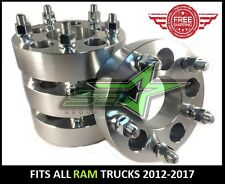 4 RAM 1500 WHEEL SPACERS 5X5.5   1.5 INCH THICK OR 38MM   14X1.5 STUDS, 5X139.7