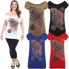 Women's Floral Viscose Hip Length Tunic, Kaftan Tops & Shirts