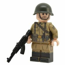 Lego Custom Soviet-Afghan War SOVIET SOLDIER- Full Body Printing NEW