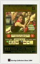2001 AFL Teamcoach Gold Parallel Card 275 David Schwarz (Melbourne)