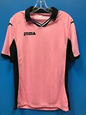 New Joma 100% Polyester Women's Collared Soccer Jersey Color Pink Size M Medium