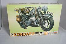 ESCI ZUNDAPP KS 750 SOLO 1/9 Model Kit Vintage #7006