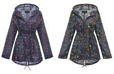 Shelikes New Womens Ladies Butterfly Summer Raincoat Festival Rain Mac