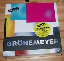 Herbert Grönemeyer alles 23 CD Box Set inkl. 68 Seiten Buch & Kunstdruck OVP