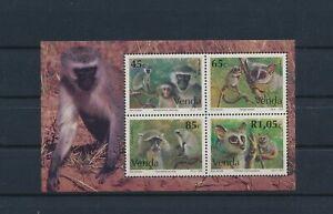 LO41596 Venda monkey animals wildlife good sheet MNH