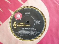 "AC/DC HIGHWAY TO HELL IF YOU WAN RADIO PROMO AUSTRALIA  45 7"" ALBERT PRODUCTIONS"