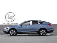 Fits Honda Crosstour Stainless Steel Pillar Posts by Luxury Trims 2010-2015 6pcs