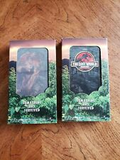The Lost World: Jurassic Park (VHS, 1997) 2 tape lot