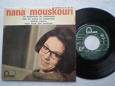 NANA MOUSKOURI Les Parapluies De Chebourg + 3 FRANCE EP FONTANA 1964