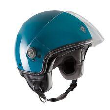 Casco Helmet Demi-jet El'mettin Verde acqua lucido Tucano Urbano Tg M
