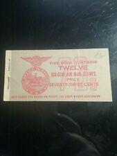 rarissime carnet poste navale alger signé mayer  rrr 6 timbre s non surcharges