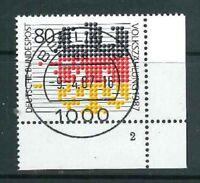 Mi-Nr. 1309 zentrisch Berlin Vollstempel - Bogenecke / Ecke 4 FN - Formnummer 2