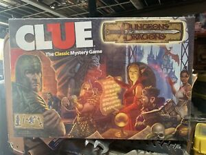 VERY RARE - Clue - Dungeons & Dragons 2013 Edition SEALED UNOPENED