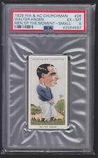 Churchman - Men Of The Moment In Sport 1928 - Walter Hagen - Golf - PSA 6 EX-MT