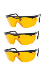 Uvex Skyper Blue Light Blocking Computer Glasses SCT-Orange Lens, 3-Pack(S1933X)