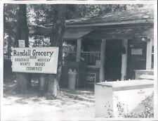 1972 Randall Grocery Store 1970s Columbus Georgia Press Photo