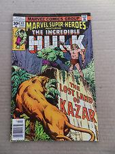 Marvel Super Heroes 63 . Hulk - Marvel 1977 - FN +