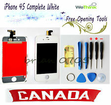 New iPhone 4S Replacement Touch Screen LCD Digitizer Assembly (White)