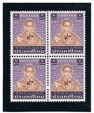 THAILAND 1983 Definitive 5b Type I (Block of 4)