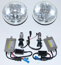 Headlights for Toyota Landcruiser 40 60 75 78 79 series with 55W HID Hi/Lo KIT