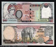 NEPAL 1000 1,000 RUPEES P51 2002 *REPLACEMENT kha20 ELEPHANT KING UNC MONEY NOTE