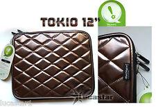 "Funda para Portatil de 12"" TOKIO MetStyle Bronce"