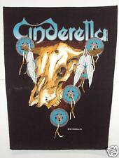 VINTAGE ANNI 80 GRANDE DA CUCIRE TOPPA : Cinderella / HEAVY METAL