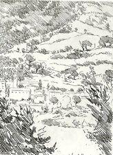 CASTELLANI Leonardo, Carte sotto stampa. Con incisioni originali. Prandi 1974