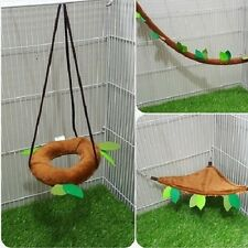 4 piece KPS Sugar Glider Accessory Set Forest Pattern Brown Color, Kullachy.shop