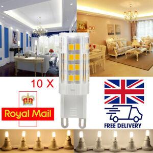 10x G9 Led Bulb 5w 230V Capsule Light Bulbs Cool/Warm White SMD 2835 Mini Lamps
