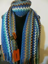 NWT MISSONI WOOL BLEND SCARF/SHAWL MADE IN ITALY(VALUE$185.00)