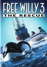 Free Willy 3: The Rescue (DVD, 2016) EXCELLENT