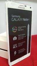 SAMSUNG GALAXY NOTE 4 3G 4G SIM FREE MOBILE PHONE SM-N910 UNLOCKED WHITE