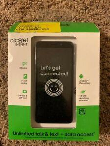 "Cricket Wireless Alcatel Insight, 5"" Display, 5MP Camera, Brand New Sealed"