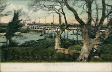 TUCKTON Tuckton Bridge Postcard nr Bournemouth HAMPSHIRE Stuart, F.G.O